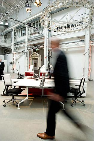 Event Collaboration Tour Steelcase Fuer Agentur Gral Lofthaus